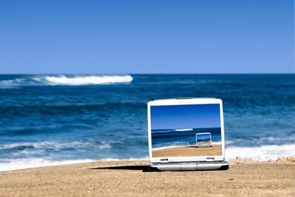 Wifi en la playa de Cala Millor