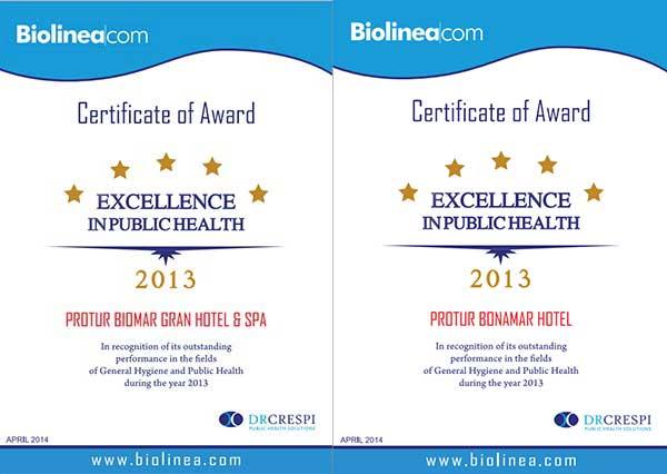 Premios Excelencia en Salud Pública 2013