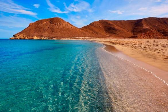 Almeria La-playa-de-los-Genoveses-en-el-Cabo-de-Gata-Almeria-protur-hotels