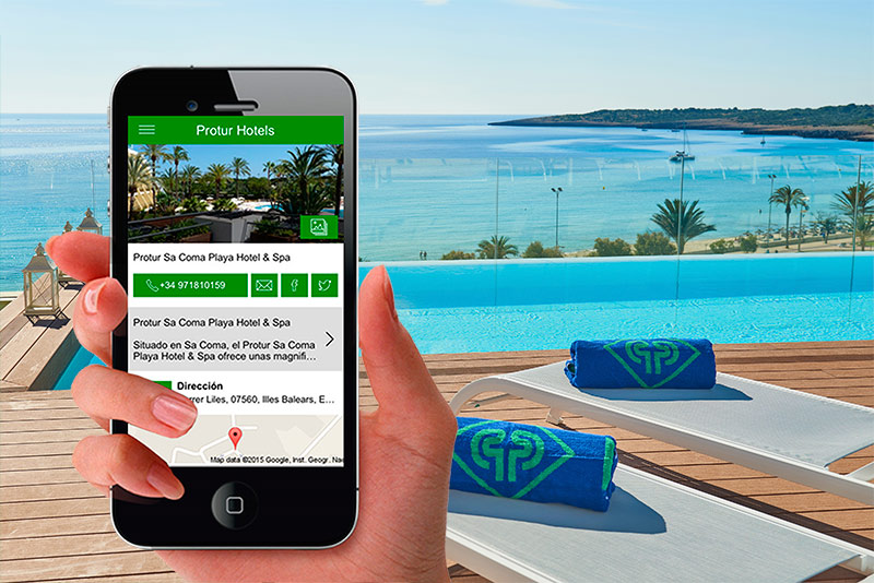 Nueva App móvil Protur Hotels