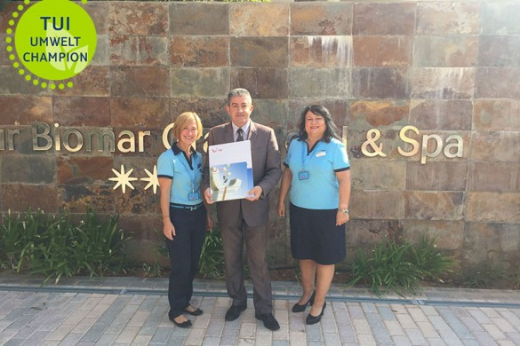 TUI Umwelt Champion 2016 protur biomar gran hotel spa