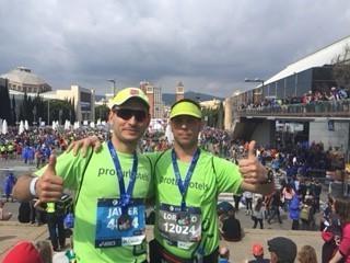 Protur Hotels en la 39º Maratón de Barcelona