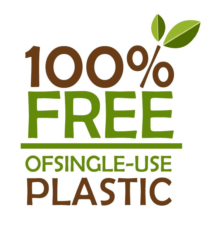 rooms 100% free of single use plastic